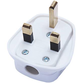 49063021fca Diall 13A Fused Plug White