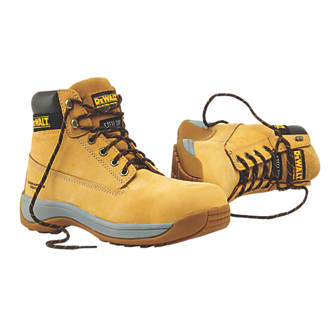 f0be6523024 DeWalt Apprentice Safety Boots Wheat Size 10