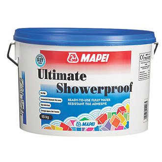 Mapei Buildfix Wall Tile Adhesive Off White Kg Wall Tile - Fast drying tile adhesive