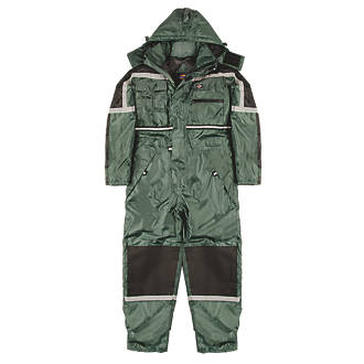 pretty cool half price wide selection of designs Dickies Waterproof Padded Coverall Green Large 44-46