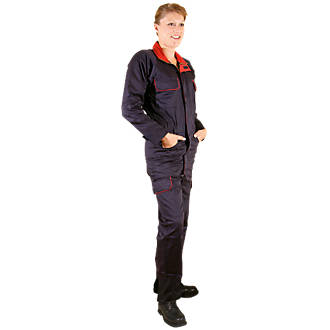 03734609d77 Dickies Redhawk Ladies Zip-Front Coverall Navy Size 12 L