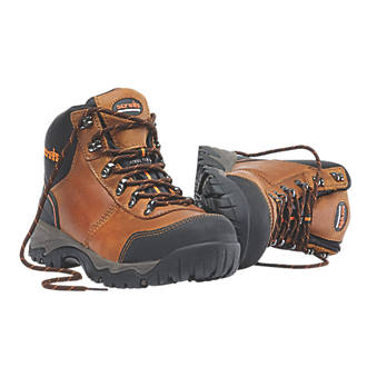 7e6ad350ab4 Scruffs Assault Safety Boots Brown Size 10