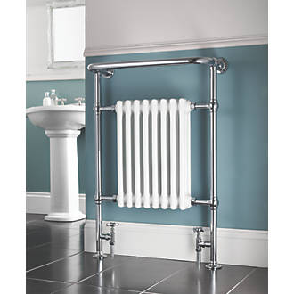 Bathroom Radiator X Mm Chrome Designer Towel Radiators - Electric bathroom radiators