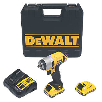 Dewalt Dcf812 Gb 10 8v 2 0ah Li Ion Xr Cordless Impact Wrench 6139j