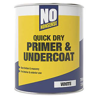 Paint And Primer >> No Nonsense Primer Undercoat 750ml
