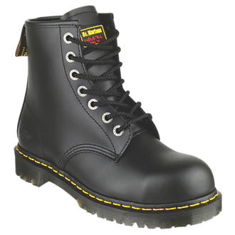 7b54e88ca55 Dr Martens Icon 7B10 Safety Boots Black Size 4 (6180F)