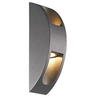 meet 5c0ce 940d3 Smartwares Verona Dark Grey Up & Down LED Wall Light 600lm 10W