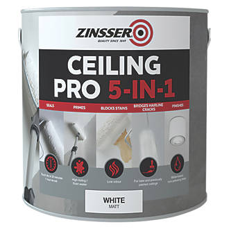 Zinsser Ceiling Pro In Paint White Ltr Specialist Paints - Pro paint