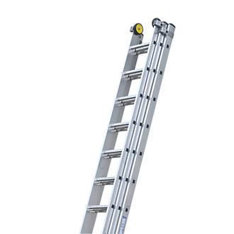 Werner 3 Section Aluminium Alloy Ladder 6350P