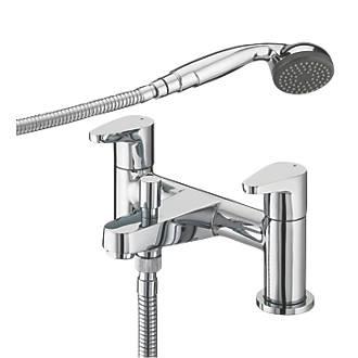 Shower From Bath Taps bristan quest surface-mounted bath / shower mixer tap | bath taps