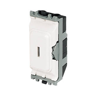 Mk 20a 2 way sp secret key switch white grid wiring screwfix asfbconference2016 Image collections