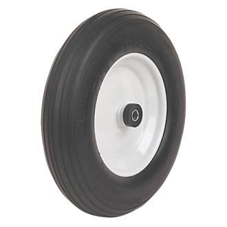 select flat free wheelbarrow wheel 364mm diameter rubber wheels
