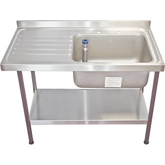 Franke Midi Catering Sink Stainless Steel 1 Bowl 1200 x 650mm ...