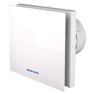 Terrific Vent Axia Vasf100T 4 3 6 8W Bathroom Extractor Fan With Timer White 240V Interior Design Ideas Grebswwsoteloinfo