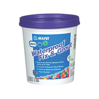 Mapei Waterproof Fix & Grout White 1 5kg