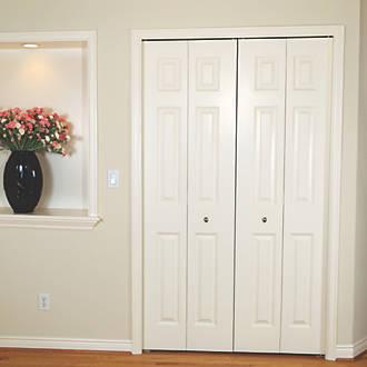 Henderson Bifold B154 4 Door Folding Track System Silver 1524mm