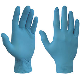 STRONG HIGH QUALITY CHOOSE COLOR AND SIZE Clear, Extra Large LATEX FREE 100 X DISPOSABLE POWDER FREE GLOVES