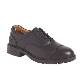 f3bada632c3 City Knights Oxford Safety Shoes Black Size 8