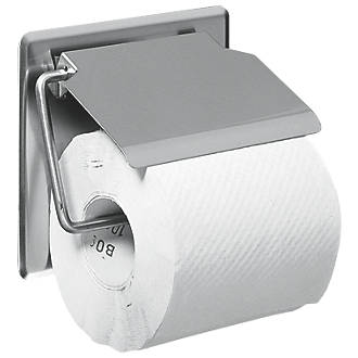 Franke Single Toilet Roll Holder with Cover | Toilet Roll Holders |  Screwfix.com
