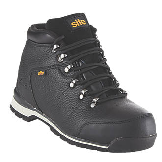 9d06a062f47 Site Meteorite Safety Boots Black Size 9