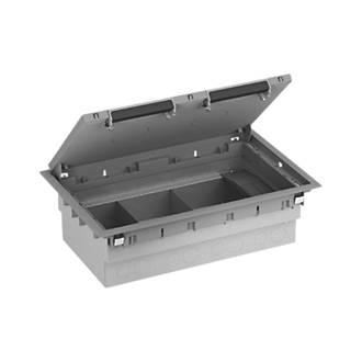 Schneider Electric Standard 3-Compartment Floorbox