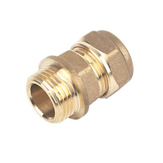 Compression Adapting Male Coupler 15mm x ½