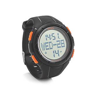 Scruffs T54169 Activity Tracker Work Watch Black