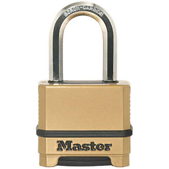Master Lock Excell Die-Cast Zinc 4-Digit Combination Padlock 56mm