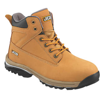 10c37858b25 JCB Workmax Safety Boots Honey Size 9