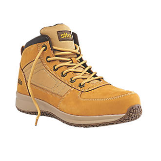 4532d0b1954 Site Sandstone Safety Trainer Boots Wheat Size 9