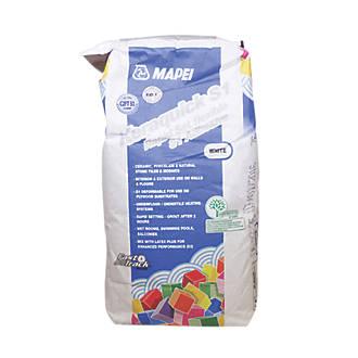 mapei keraquick wall floor rapid set flexible tile adhesive white 10kg