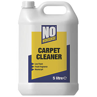 No Nonsense Carpet Cleaning Detergent 5ltr Carpet Cleaning Screwfix Com