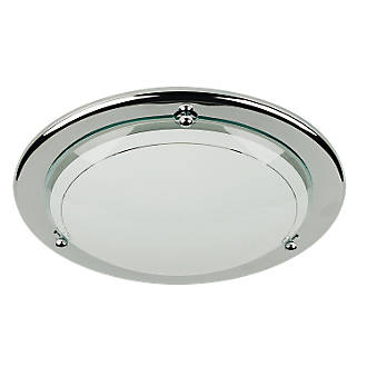 Half circular ceiling light chrome 60w flush ceiling lights half circular ceiling light chrome 60w flush ceiling lights screwfix aloadofball Choice Image