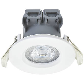 size 40 8e20c ad62b LAP Fixed LED Downlight Contractor Pack White 370lm 5W 220-240V 10 Pack