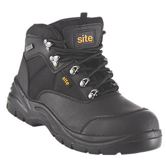 27355d40796 Site Onyx Safety Boots Black Size 11