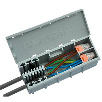 Swell Wagobox Junction Box Junction Boxes Screwfix Com Wiring Digital Resources Dylitashwinbiharinl