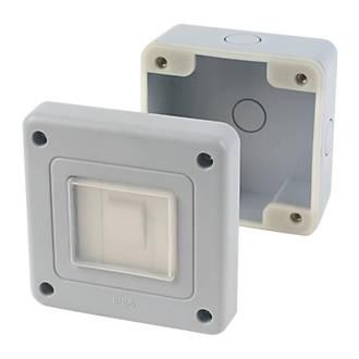 IP66 Waterproof Outdoor Enclosure Case Electrical Junction Box 2Way Terminal Kd