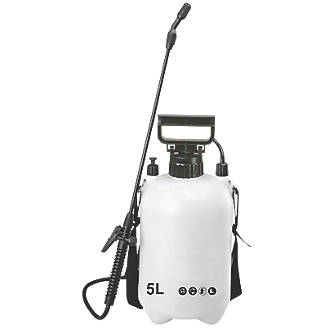 Sx Cs5 White Black Pressure Sprayer 5ltr Garden Sprayers Screwfix Com