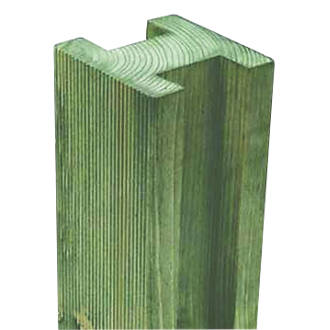 Forest Reeded Fence Posts 95 X 95mm X 24m 4 Pack