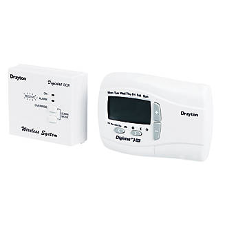 Drayton digistat 3rf room thermostat wired thermostats screwfix asfbconference2016 Image collections
