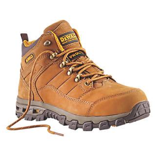 32f0239860e DeWalt Pro-Lite Comfort Safety Boots Brown Size 12