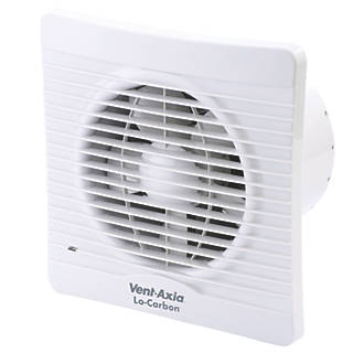 Vent Axia 150t 20w Kitchen Extractor Fan With Timer White 240v 78869