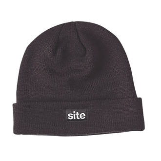Site Thinsulate Knitted Hat Black (79891) e7daaf64954