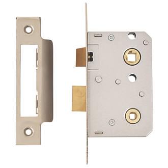 ERA Bathroom Lock Chrome Effect 26 x 64mm (79976)