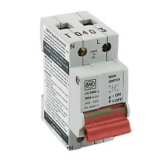 mk sentry 100a dp main switch isolator (80187)