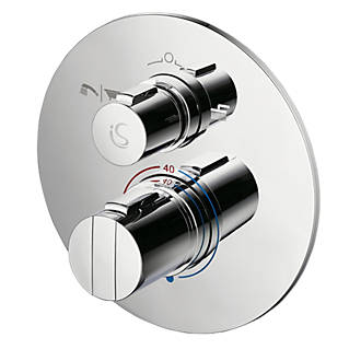 What Is A Thermostatic Shower Valve.Ideal Standard Concept Easybox Slim Concealed Thermostatic Mixer Shower Valve Diverter Fixed Chrome
