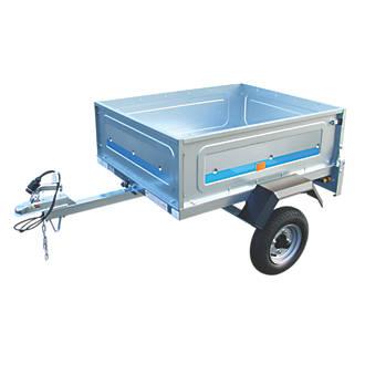 maypole small trailer 1726 x 1200 x 824mm trailers screwfix com