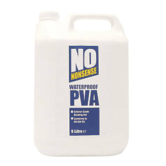 No Nonsense Waterproof Pva 5ltr Pva Sealers Screwfix Com