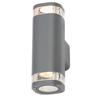 on sale 798b4 e0cbb Zinc 32256 Up & Down Wall Light Anthracite