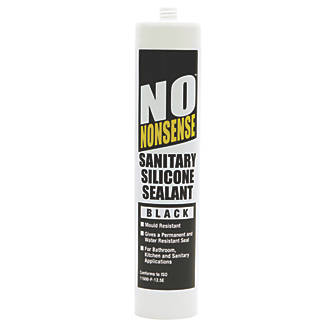No Nonsense Sanitary Silicone Black 310ml 81712